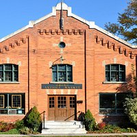 Historic Orono Armoury, home of the Orono Antique Market t