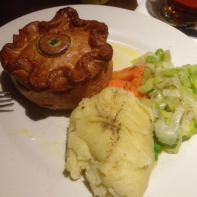A great beef and ale pie.