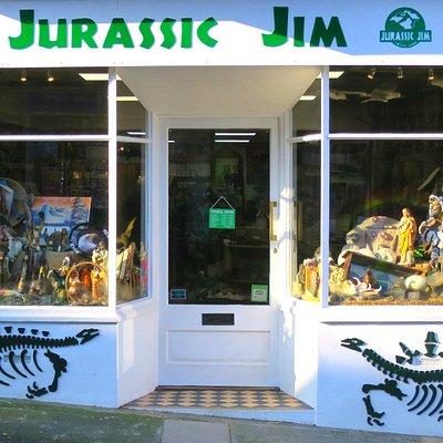 Jurassic Jim Shop Front