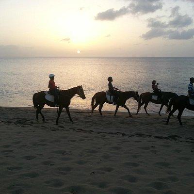 Sunset Beach Ride