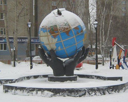 Глобус в Тюмень