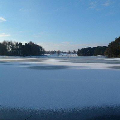 Lanark Loch Winter
