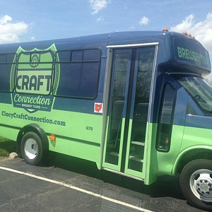 This 14 passenger bus is your ticket to all things Craft Beer in Cincy!