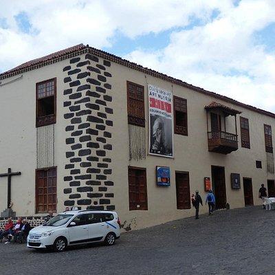 Facade of Museo de Arte Contemporaneo Eduardo Westerdahl