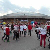 Атлас Арена перед волейболом