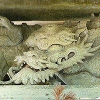 Meet the Shenron at Koyasu-Jinja