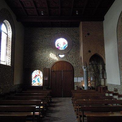 Chiesa vista all'interno