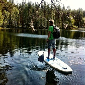 Relax and paddle