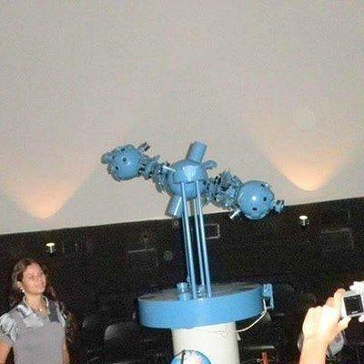 aparelho do planetário