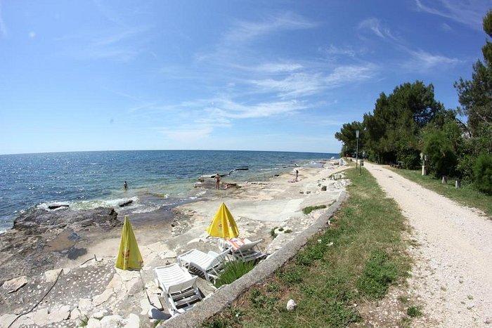 lovrečica - san lorenzo, beach - bike trail