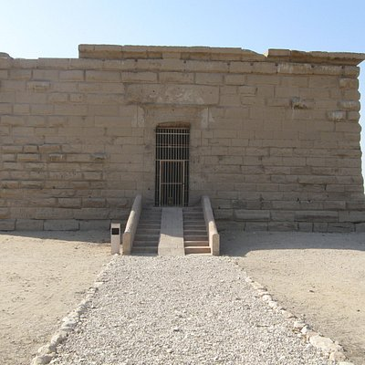 Deir Shelwit, Temple of Isis