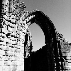 Some of the ruins at Kilwinning Abbey