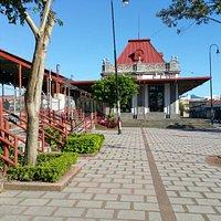 Estación del Atlántico - the west end of the station (facing east)