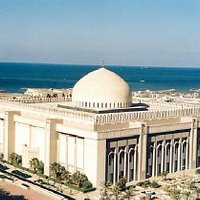 The Grand Mosque of Kuwait exterior