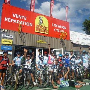Cocci'Vélos Partenaire des Clubs Locaux
