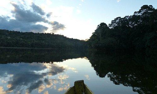 Lagoon Chalalan; Chalalan Ecolodge, Madidi National Park.