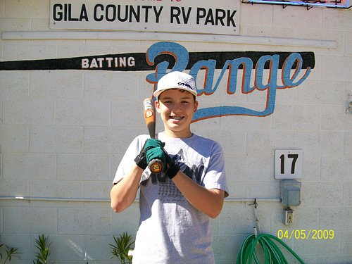 Some of our batters start very young and go on to receive baseball scholarships.