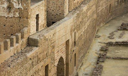 Interior del Castillo