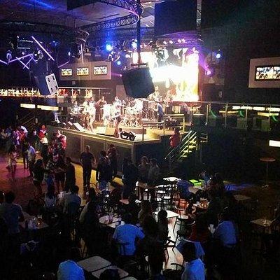wonderful Salsa band with huge space dance floor