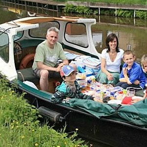 Perfect for a leisurely day on the canal
