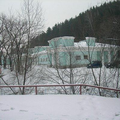 Музей находится в здании исторической водолечебнице