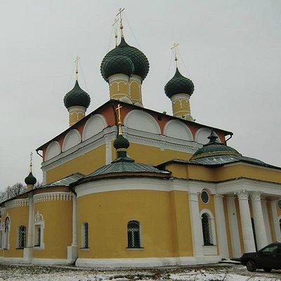 Вид на собор с набережной