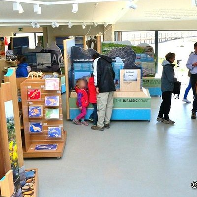 Spacious layout with gift shop and learning activities