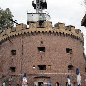 Fort z zewnątrz