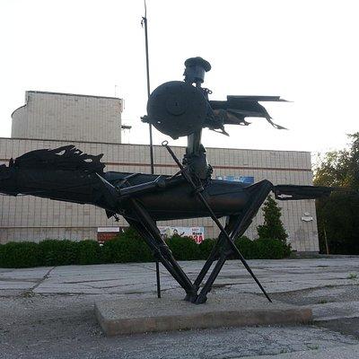 Памятник Дон Кихоту