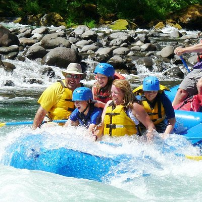 Whitewater rafting on the Clackamas River near Portland
