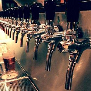 Eighteen new taps