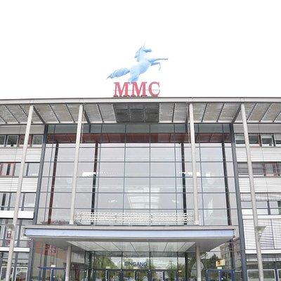 Haupteingang MMC Film & TV Studios Cologne