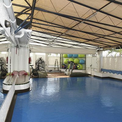 cardio room - boxing, wing tsun, yoga and other classes are provided here