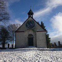 St. Getrudis Kapelle im Januar 2015