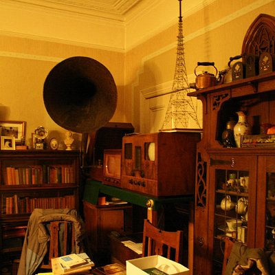Living Room with 1920s Gramophone