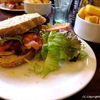 Hunters Chicken Sandwich