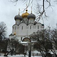 A catedral da Nossa Senhora de Smolensk