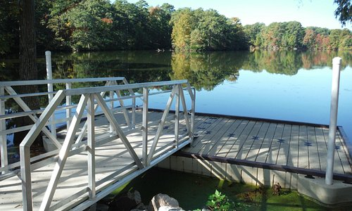 Floating Dock for launching canoes, kayaks