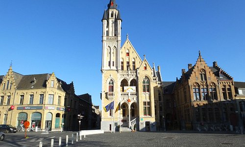 Poperinge Town Centre..!