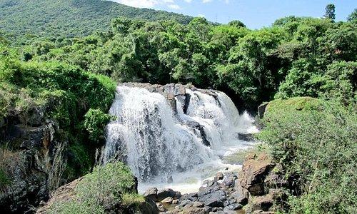 Cachoeira Véu das Noivas em Poços de Caldas - MG