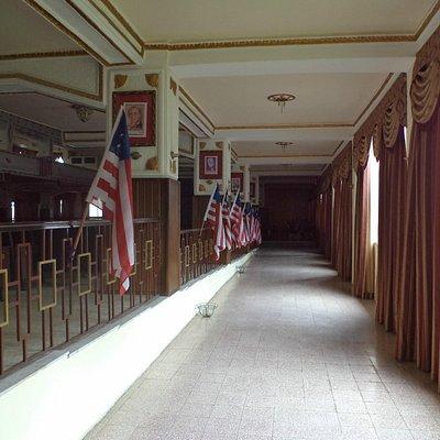 Interior of Pavilion (West side)