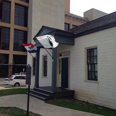 Odd angle -- informative little museum