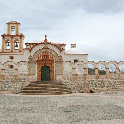 Parroquia de San Benito, iglesia utilizada por la población indígena, data de l siglo XVI