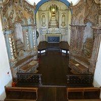 Interior da Igreja Nossa Senhora do Carmo