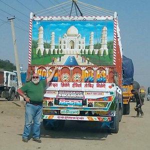 Taj Mahal on Truck