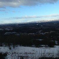Winter in Cathkin Braes