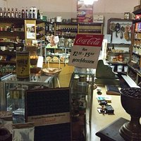 Old shop in museum.