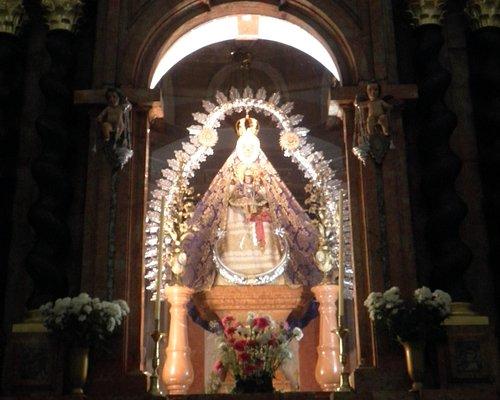 Imagen de la Virgen de la Sierra.