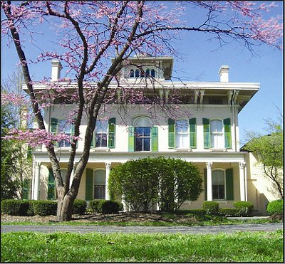 Edwards Place historic home, a social center of Lincoln's Springfield