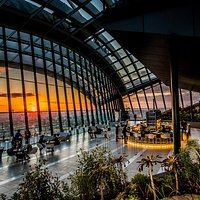 Sunset at Sky Garden